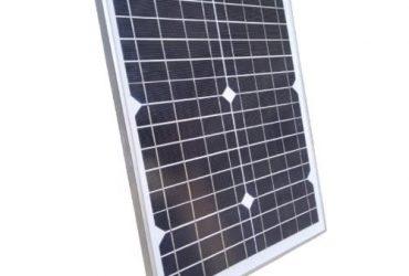 QASA 20 Watts 12V-15V Mono Solar Panel For Rechargeable Fans