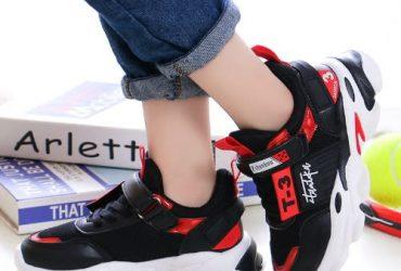 Girls Sneakers – Black