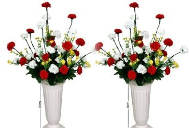 2 Set Of Multi-Color Flowers With Pla…