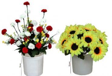 Mini Flowers With Sunflowers Set