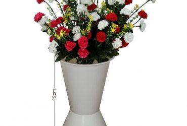 Plastic Flower Vase With Multi-Color …
