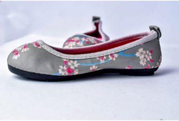 Fashion By LV Flowery Ballet Shoe