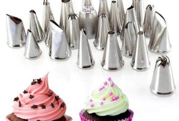 23pcs Tools Set Icing Piping Nozzles Cake Decorator Pastry Tips