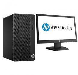 "HP 290G1 500/4GB DESKTOP DUALCORE DOS + 19"" (LC)"