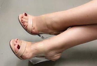 Ladies Wedge Sandals3 – Nude