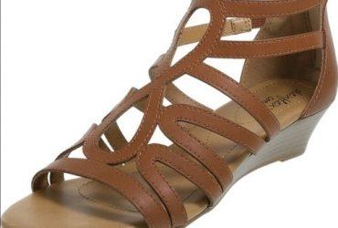 Dexflex Comfort Women's Taylor Low Wedge Sandal