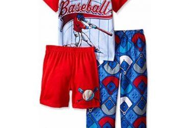 Boys' 3 Piece Sleepwear Set