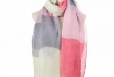 Sally Young Fashion Gradien Elegant Women Scarf – Multicolour