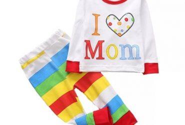 I Love Mom Pyjamas