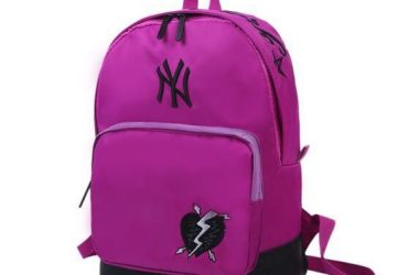 MLB Yankees Backpack | Purple Black