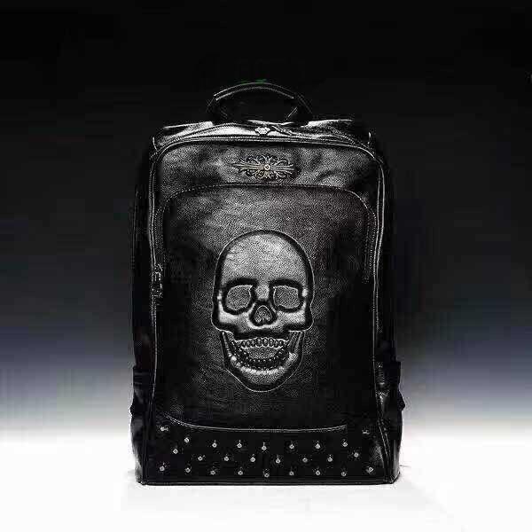 Phillip Plein Leather Bag-P8073| Black