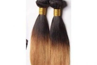 Ombre Straight Brazilian Weavon-6 Bun…