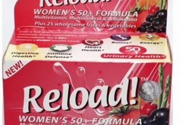 Women's 50+ Formula Dietary Supplement – 90 Tablets