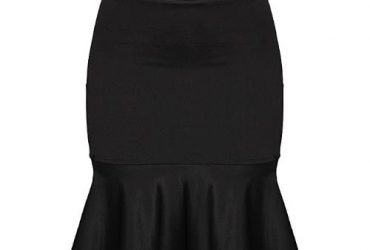 Bodycon Skirt – Black