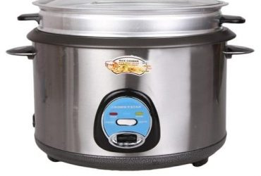 Crown Star 2.8 Liter Multifunctional Rice Cooker And Deep Fryer