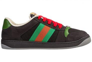 GG Screener Sneakers | Black