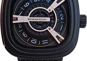 Sevenfriday M-Series| Black & Rose Gold