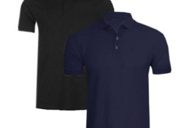 Fashion By LV 2 In 1 Men's Polo Shirt…