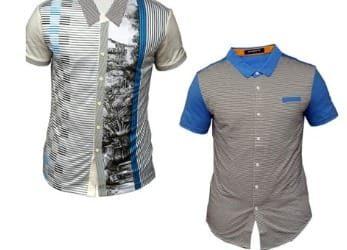 2 In 1 Men's Short-Sleeve T-Shirt – M…