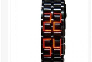 Fashion By LV Full Metal Digital LED …