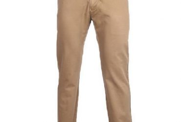 Men's Straight Leg Chinos Trouser – Carton Brown
