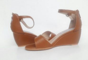 Women's Wedge Sandals – Cognac