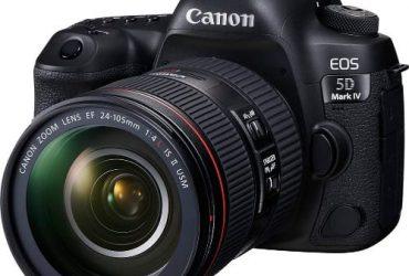 Canon EOS 5D Mark IV Full Frame Digit…