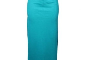 Women's Long Skirt With Belt – Sea Gr…