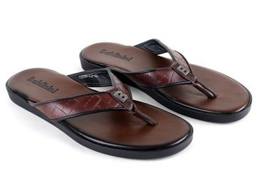 Baldinini Flip Flop Slide | Brown