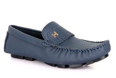 Hermes Tassel Drivers | Navy Blue