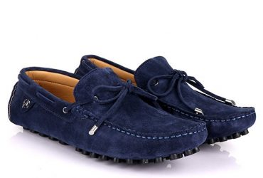 Tod's Suede Drivers | Navy Blue