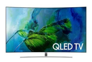 "Samsung 65"" Q8c Curved Qled 4k TV"