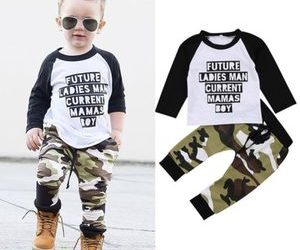 generic-2pc-baby-boys-kids-toddler-long-sleeve-t-shirt-tops-teepants-clothes-outfit-set-