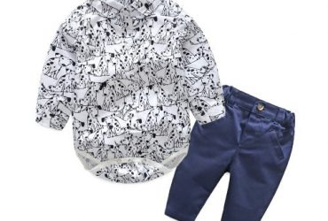 2 Pieces Formal Baby Boy Cloth