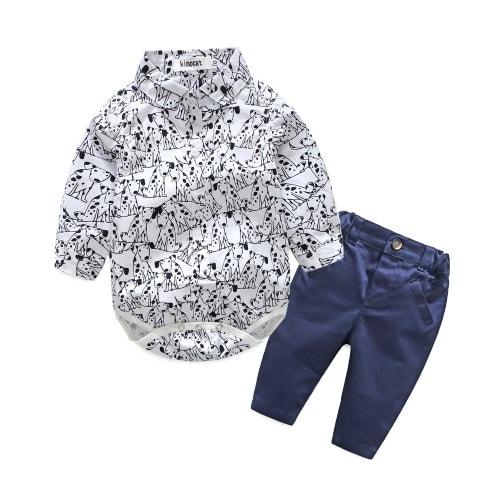 2 Pieces Formal Baby Boy Cloth