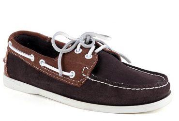 Sebago Nubuck Dockside Shoe | Coffee Brown Brown