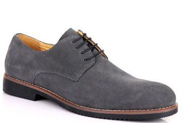 Billionaire Suede Lace Up Shoe | Grey