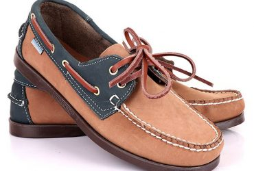 Sebago Dockside Shoe | Blue Brown