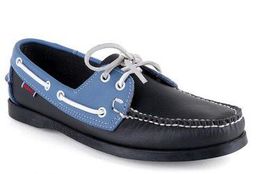 Sebago Dockside Shoe  Blue Black