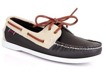 Sebago Dockside Shoe – Coal Black Cream