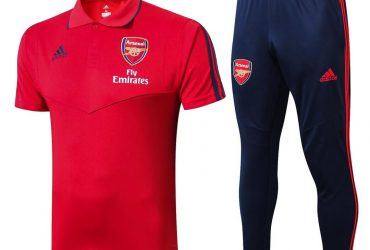 Arsenal Prematch Polo Tracksuit | Red Be the first to review this product