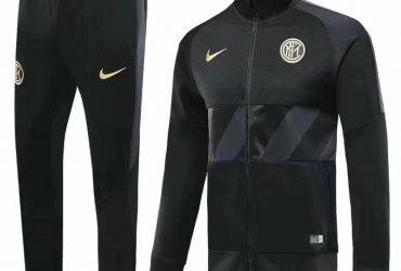 Inter Milan Presentation Tracksuits | Black