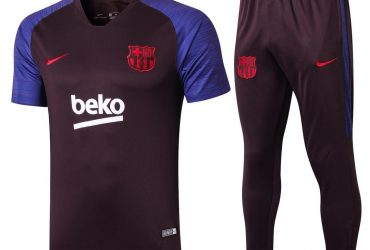 Barcelona Training Tracksuit | Brown