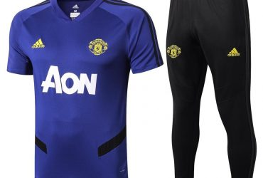 Manchester United Training Tracksuit | Blue Black