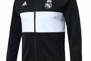 Real Madrid Anthem Jackets   Black
