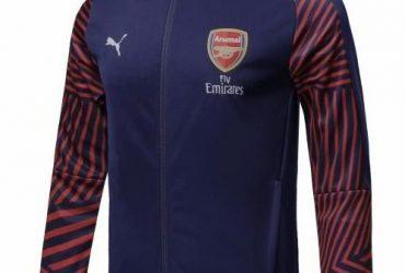 Arsenal Anthem Jackets | Navy Blue