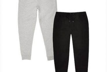 Men's Joggers Set – Black And Grey