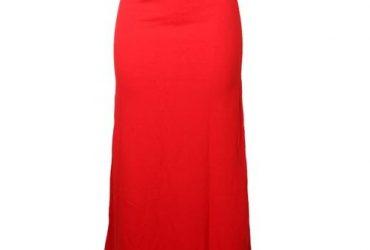 High Waist Stretchy Skirt With Belt R…