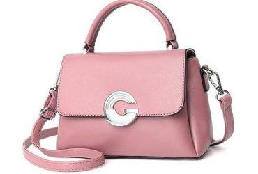G Closure Mini Handbag – Pink
