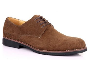 Suede Lace Up Shoe | Brown